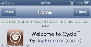 welcome to Cydia