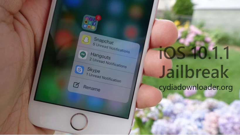 iOS 10.1.1 Cydia downloader with yalu